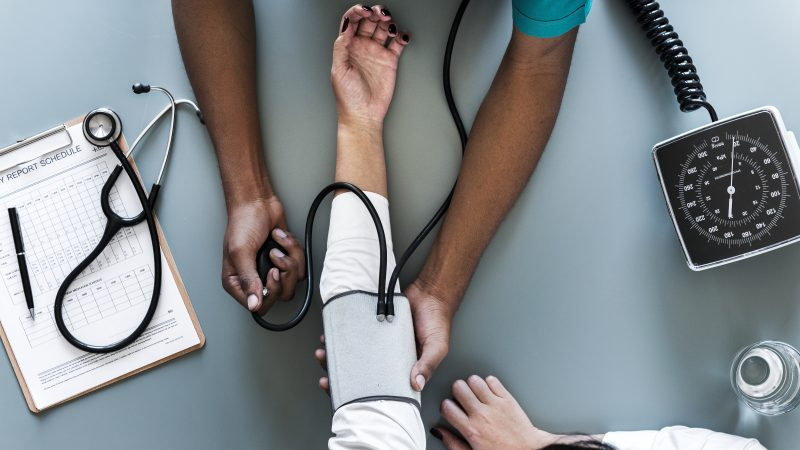 It is important to regularly measure blood pressure.