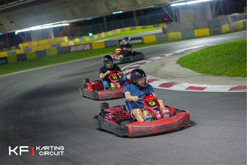A Father-Child Go Karting Experience