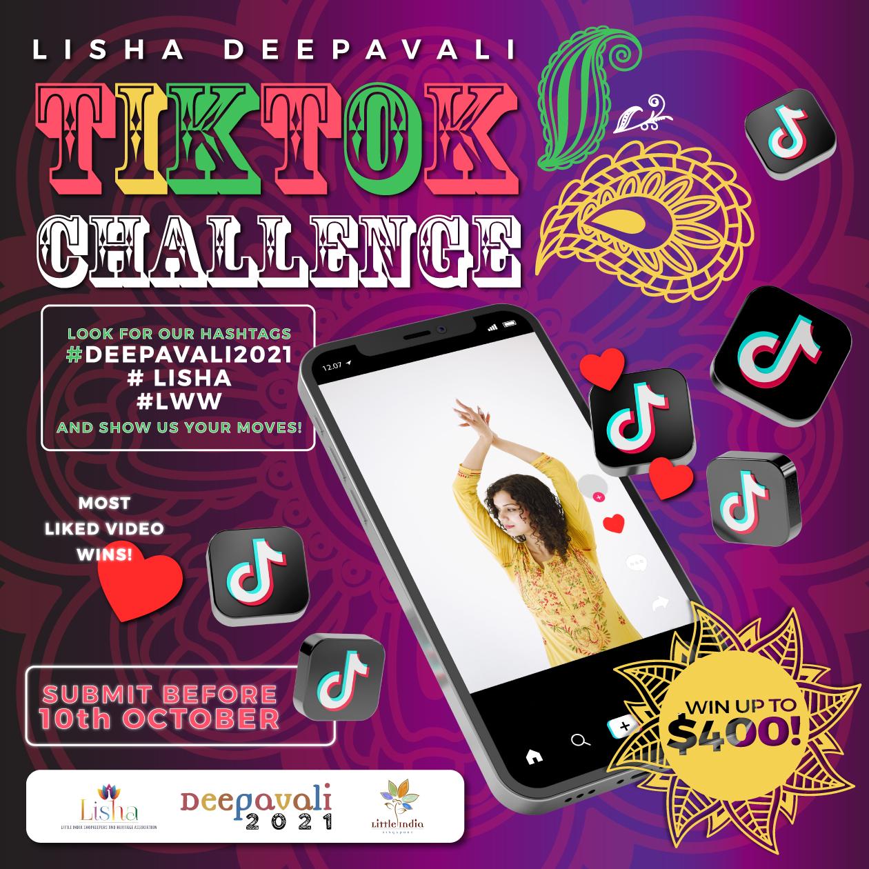 Tik Tok Deepavali Dance Challenge