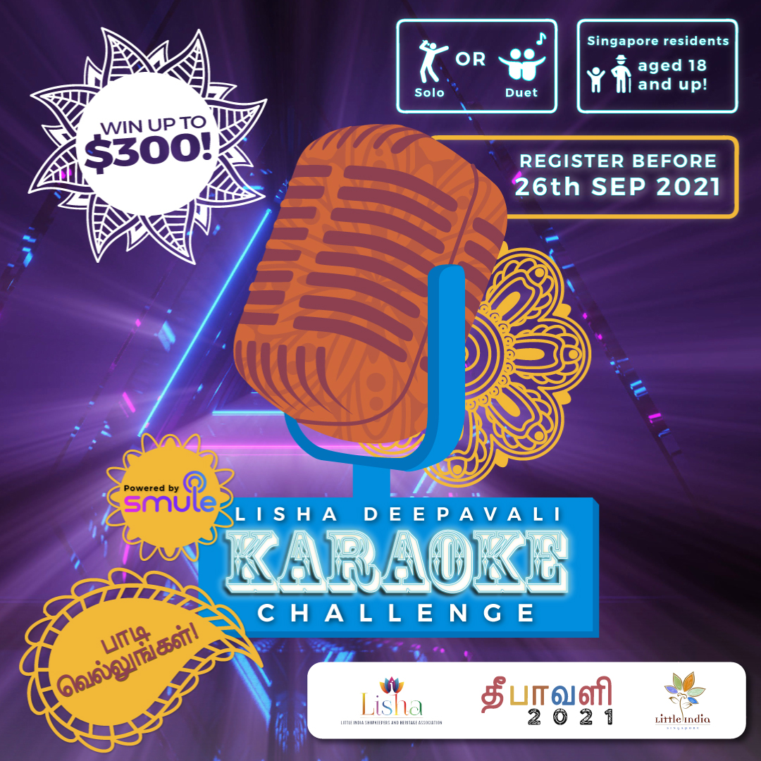 LISHA Deepavali Karaoke Challenge