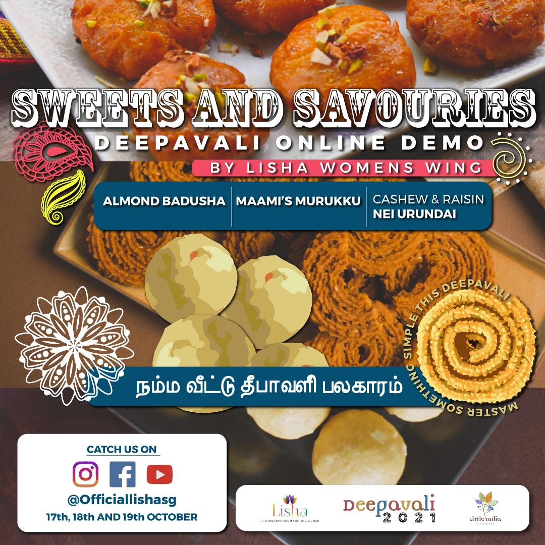 Deepavali Sweets & Savouries Cooking Demonstration