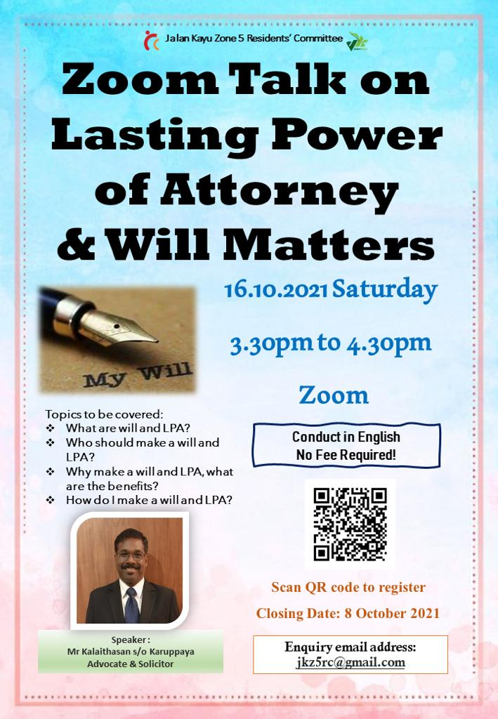 Event: Lasting Power of Attorney & Will Matters