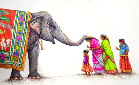 Ganesha 27 - Village Series